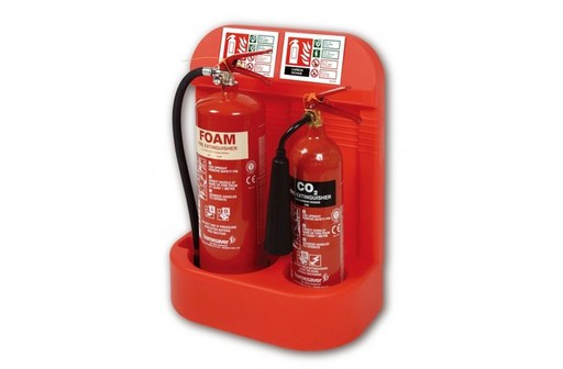FIRE EXTINGUISHERS & BOXES