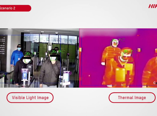 Thermal Cameras Paving the way for back to work!