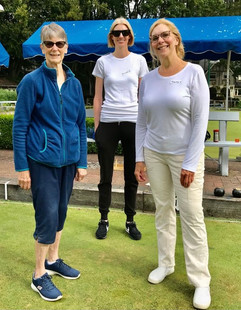 Pat, Kirsten and Tracey
