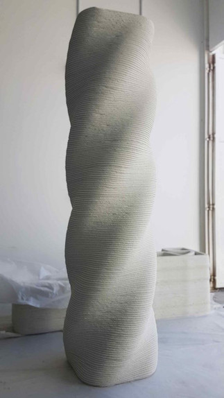 Colonne imprimée en 3D