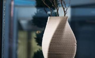 Vase imprimé