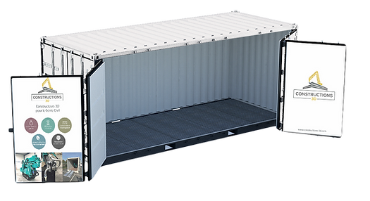 Container certification maritime Constructions-3D