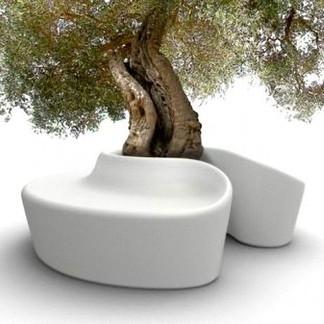 Banc tour d'arbre imprimable