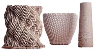 Pots à motifs 3D