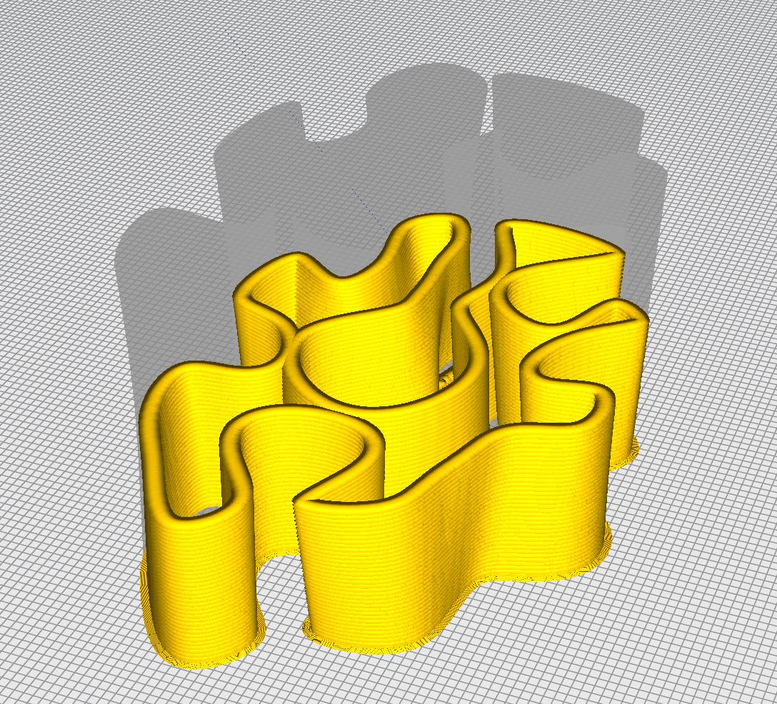 Récif béton imprimé en 3D