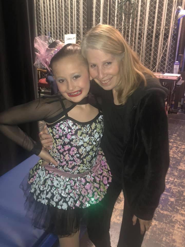 Terri and Her Dancer