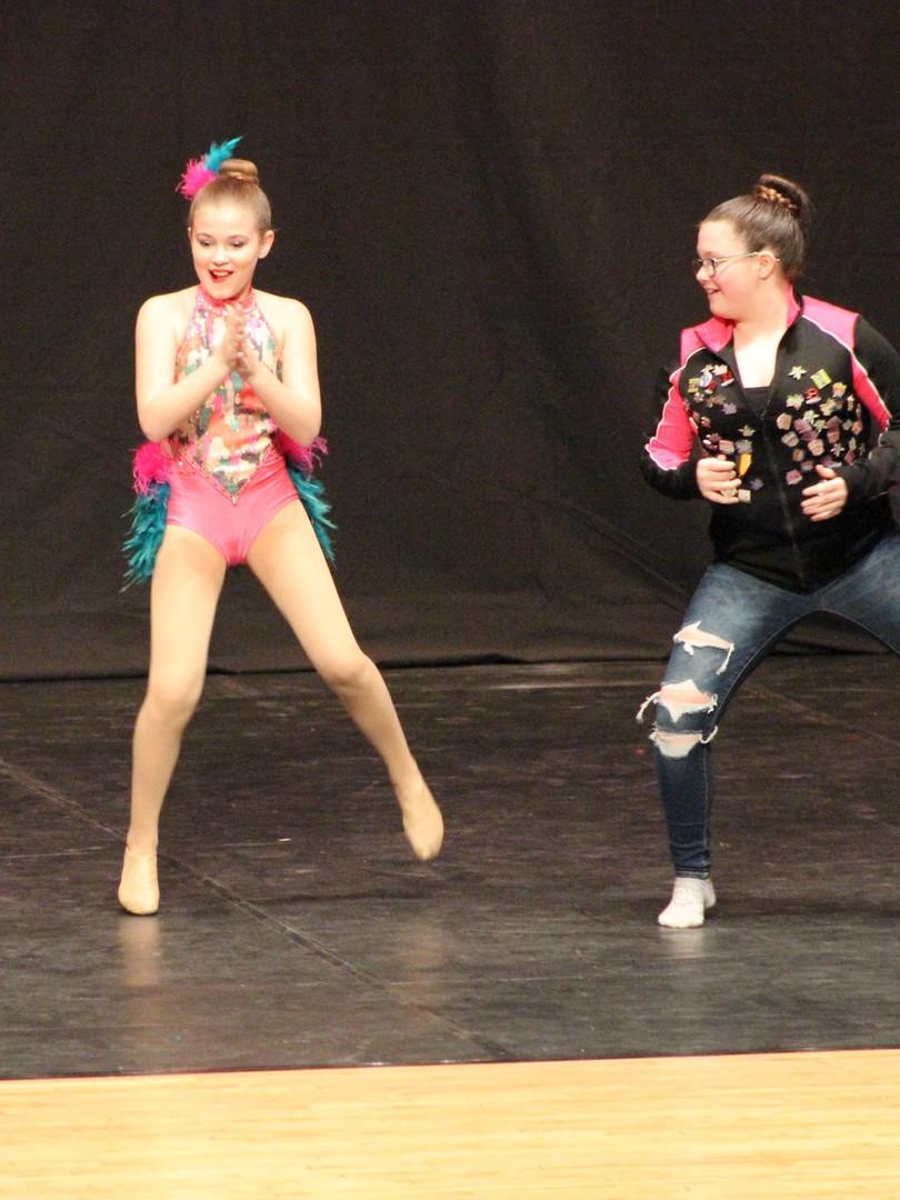 Dancing at awards!