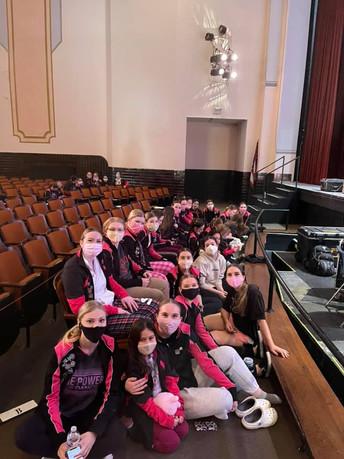 Some TTS girls waiting for awards!