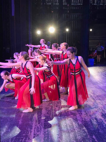 Large Group Competition Lyrical