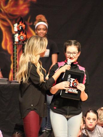 Awards at Inferno Dance