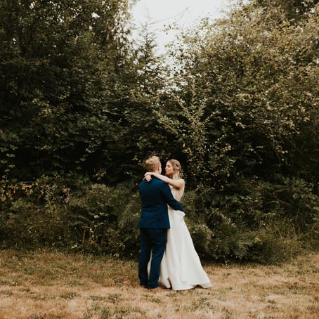 Boho, Forest Wedding in Vancouver, Washington