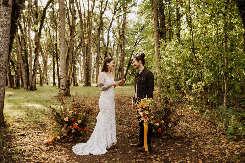 the five oaks farm portland elopement planner