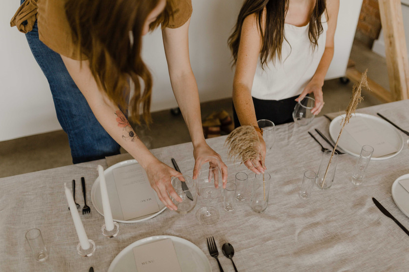 Hosted By Kate + Hanna Portland Wedding Planners