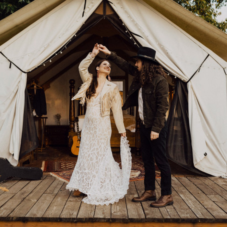 Modern Elopement at The Five Oaks Farm in portland, Or
