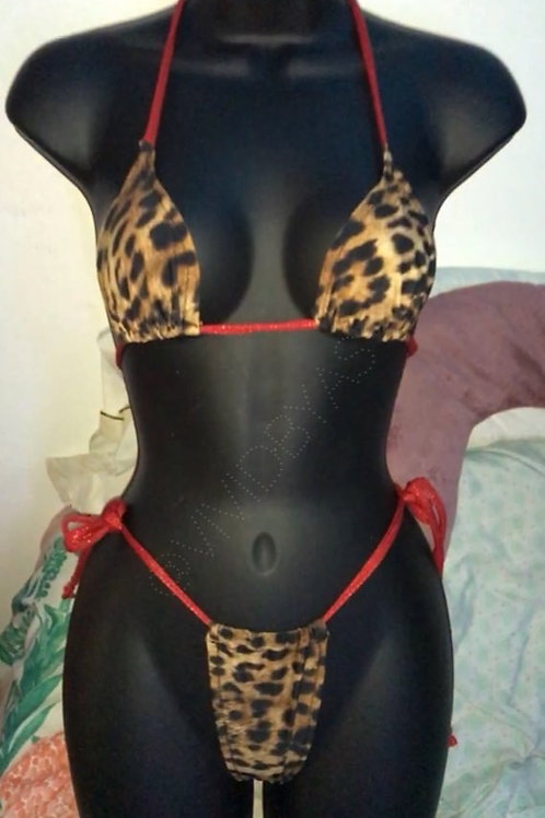 Cheetah  Microkini