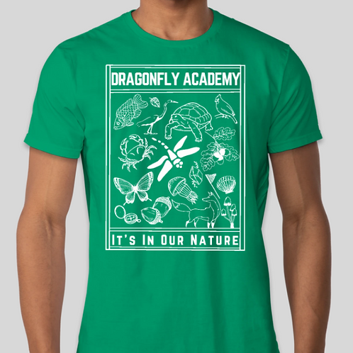 Dragonfly Academy Nature T-Shirt