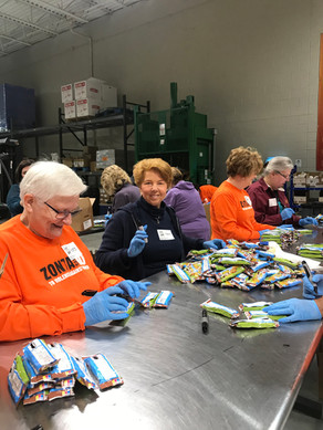 2020 Northern IL Food Bank Service Event