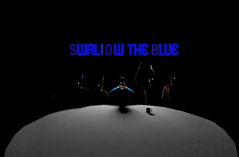 Swallow The Blue Poster