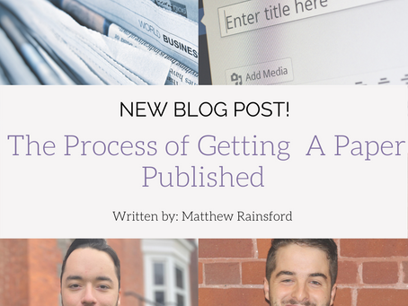 The Process of Getting  A Paper Published