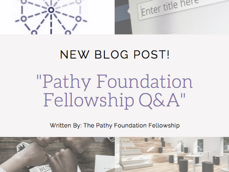 Pathy Foundation Fellowship