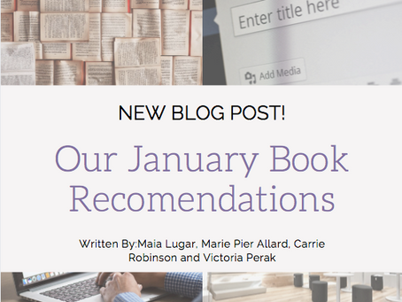 Our January Book Recomendations