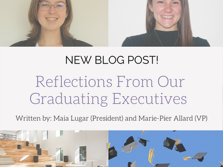 Reflections From Our Graduating Executives