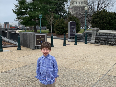 At Age 8, Jax Has Recruited 9 Members of Congress to Join the Congressional Celiac Disease Caucus