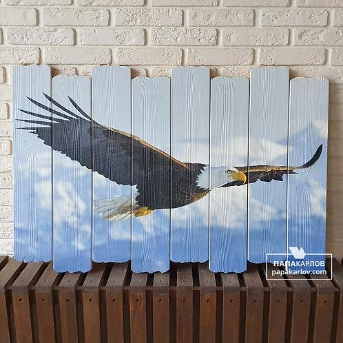 "Картина на досках ""Орел 2"""