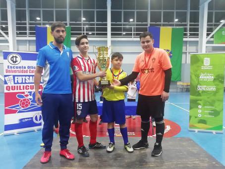#SaludQuilicura dice presente en el Primer Campeonato de Futsal Intervillas