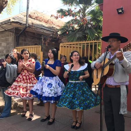 #SaludQuilicura dio inicio a las celebraciones de Fiestas Patrias con esquinazo en los CESFAM