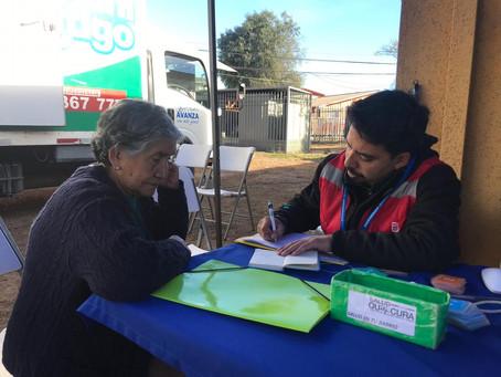 Salud en Tu Barrio visitó Villa Los Compositores