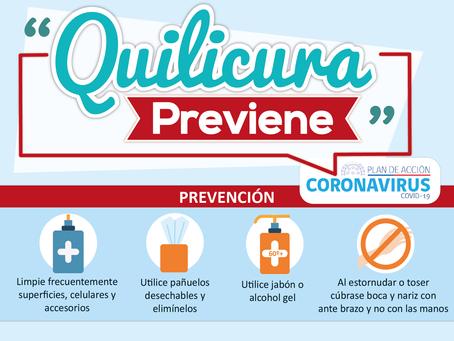 ¡Cuidémonos del Coronavirus!