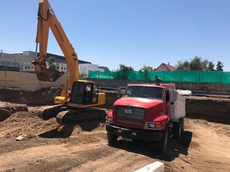 Continuamos avanzando en la construcción del CESFAM Marta Ugarte