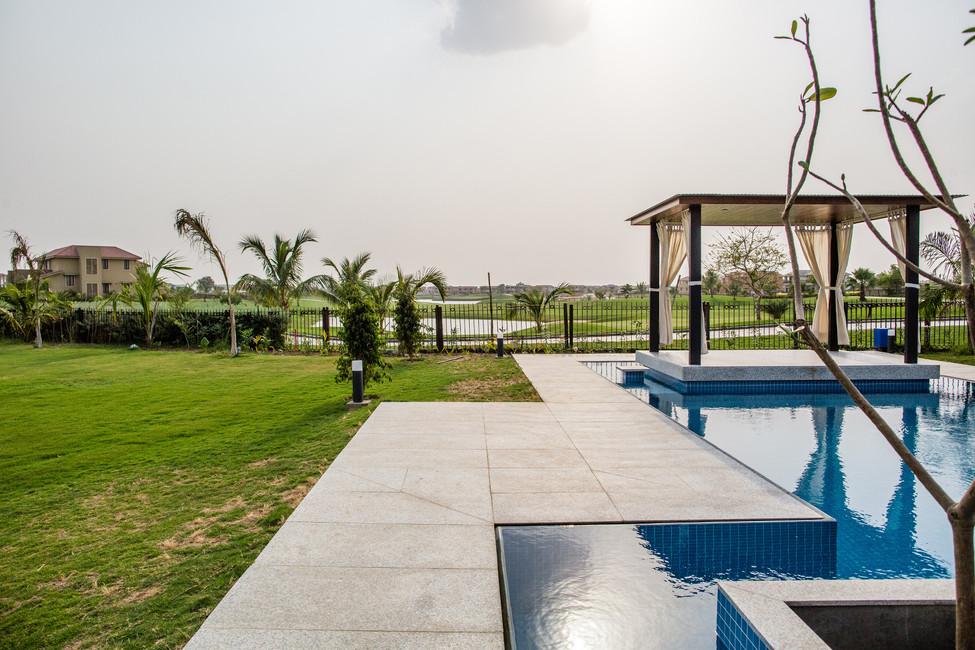 KBG Getaway_LD_View of Pool Deck, Gazebo
