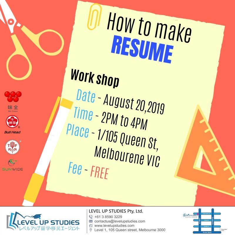 How to make RESUME (1)