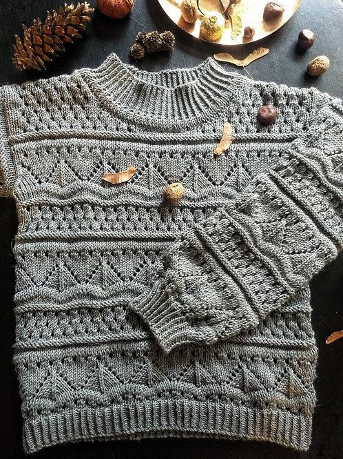 Meredith Sweater - Knitting Pattern