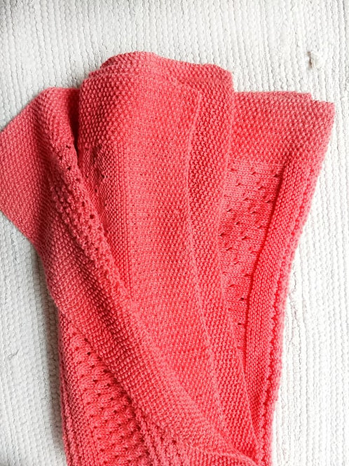Eyelet Baby Blanket (Eng)