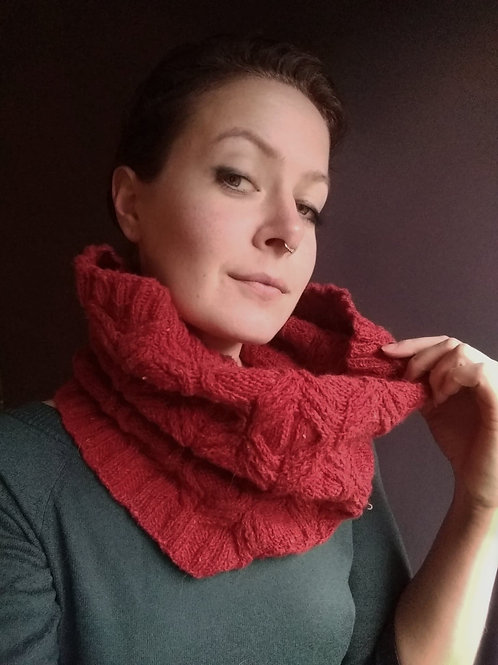 Wellington Cowl - Knitting Pattern