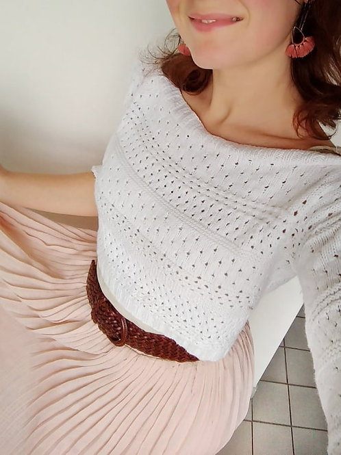 Eve Cropped Sweater