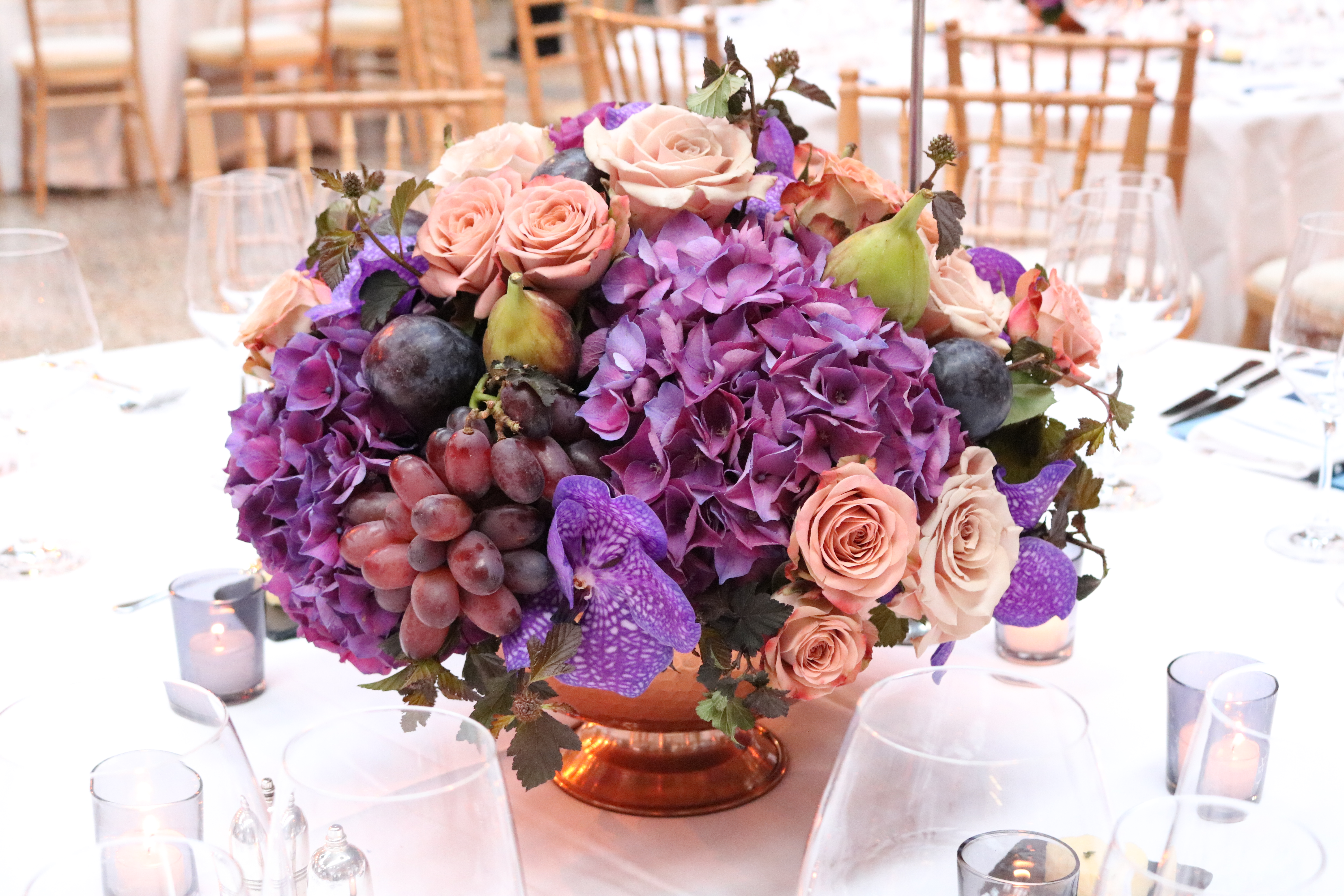 Early Autumn Table Centres