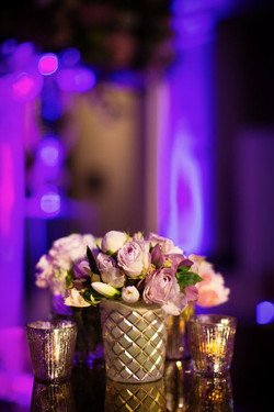 Lilac Rose Poseur Table