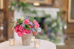 Terracotta & Colour Flowers