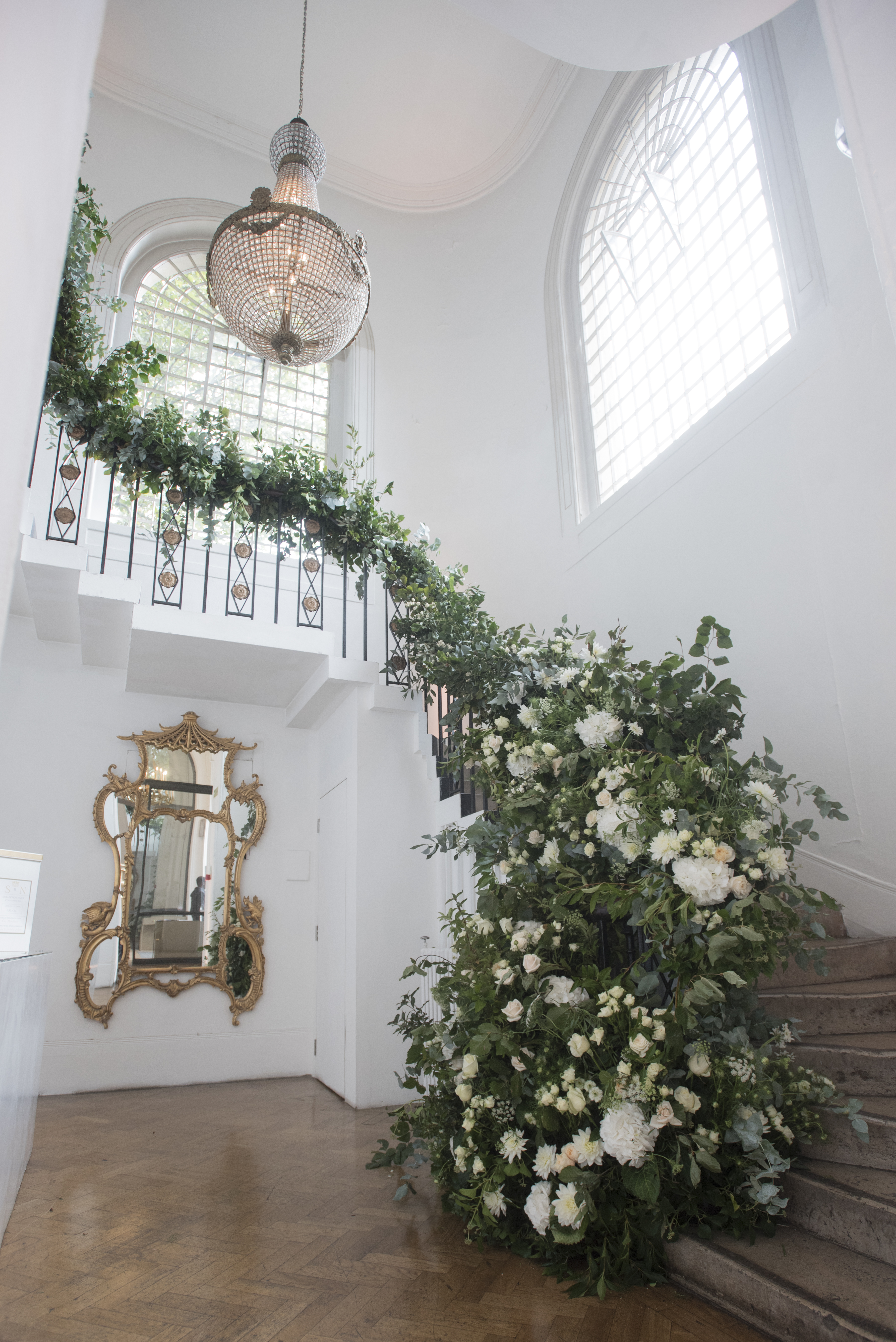 Gorgeous Summer Stairs