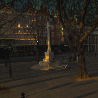 Estranged Lovers at Sloane Square