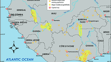 Deposits of Gold West africa Asiamercury