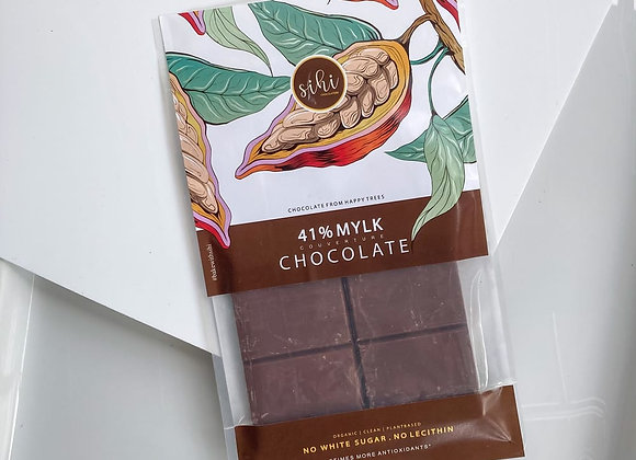 41% Vegan Milk Chocolate, Organic, Plant Based