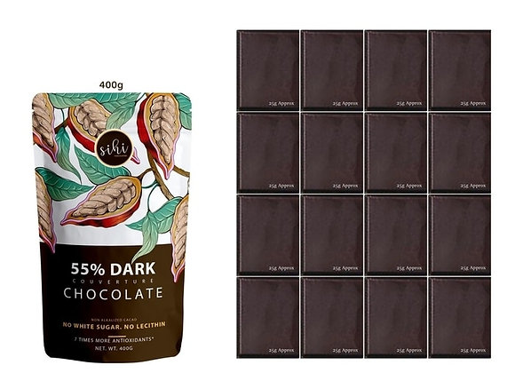 55% Dark Chocolate - 400g