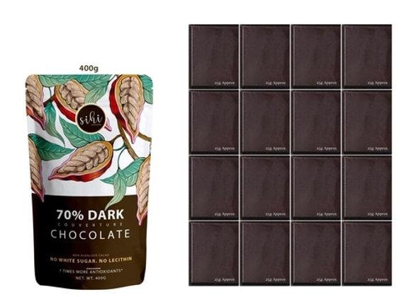 70% Dark Chocolate - 400g