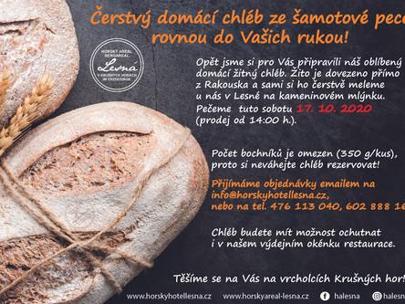 Náš Krušnohorský žitný chléb