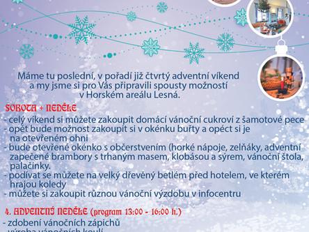 4. Adventní víkend